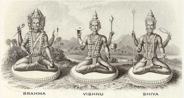 Культура Древней Индии. Боги Индии: Брахма, Вишну, Шива